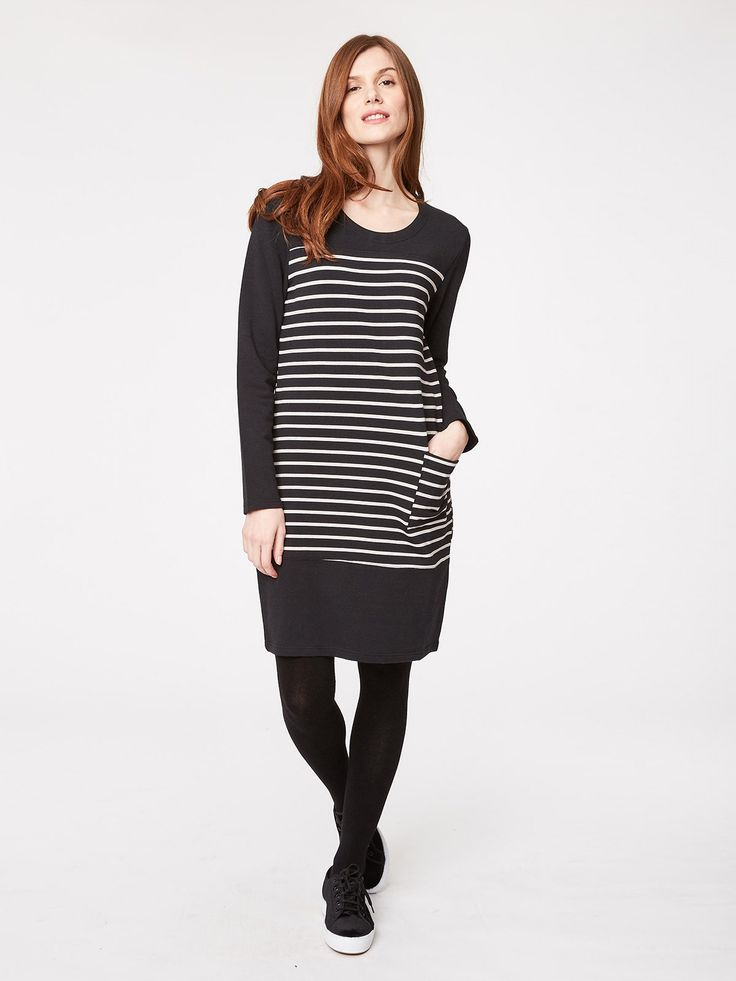 Cristina Striped Bamboo Tunic Dress - All Women's - WOMEN