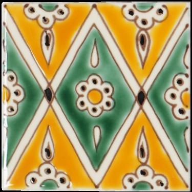 fired earth tile tiles floor stencils españa