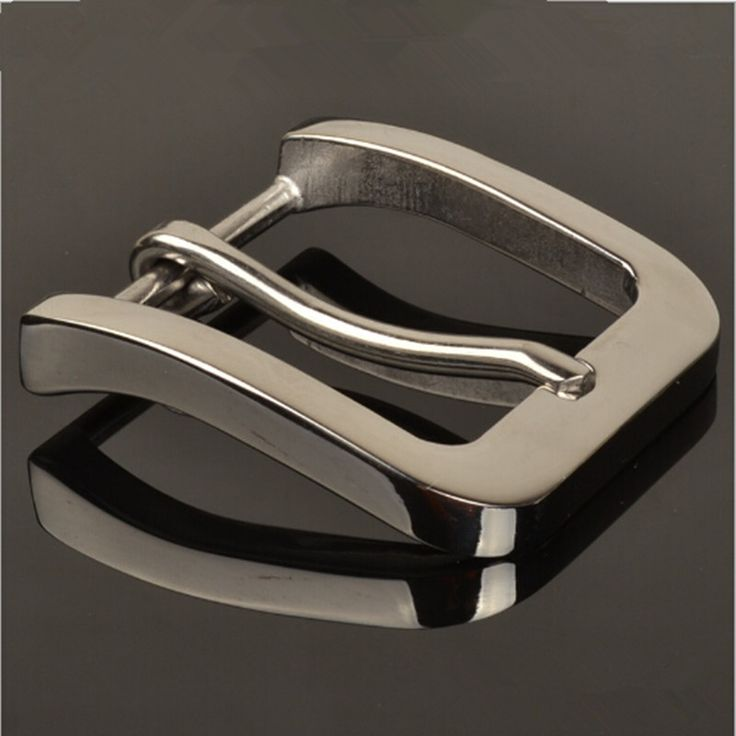 Retail Hot selling High quality 58*53mm Solid stainless steel Men's Belt Buckle for 4cm Wide Belt Fashion mens Jeans accessories