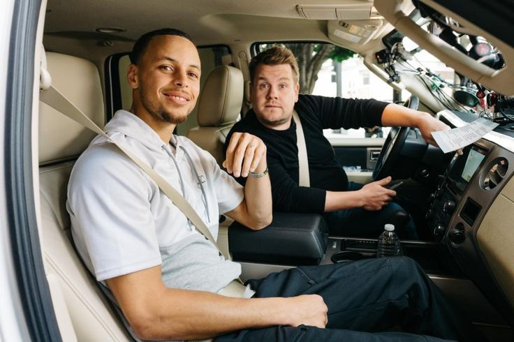 Stephen Curry does 'Carpool Karaoke' with James Corden Apr 4, 2017 7:01 AM ET Corden recently visited the Bay Area and made a day of it with reigning two-time Kia MVP Stephen Curry of the Golden State Warriors. It's a must-see video in which, yes, Curry does the Carpool Karaoke act -- and so much more -- with Corden during their day together.