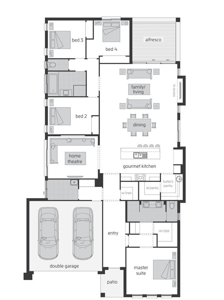 Sandalford Floor Plan - KITCHEN LAYOUT