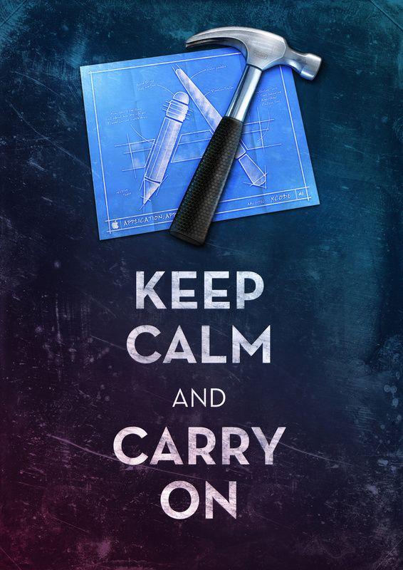 Keep Calm Xcode by Michael FlarupCalm Pinwheels, Calm Posters, Xcode Art, Art Prints, Michael Flarup, Keepcalm, Keep Calm, Calm Xcode, Calm Series