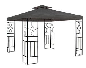 Spetebo WATERPROOF pavilion roof anthracite 2,98x2,98m roof pavilion pavilion WATERPROOF: Amazon.co.uk: Garden & Outdoors