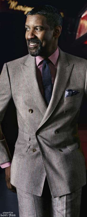 Denzel Washington by photographer Nathaniel Goldberg for GQ, October 2012