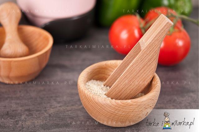Czerpak drewniany do produktów sypkich XL, 30 ml