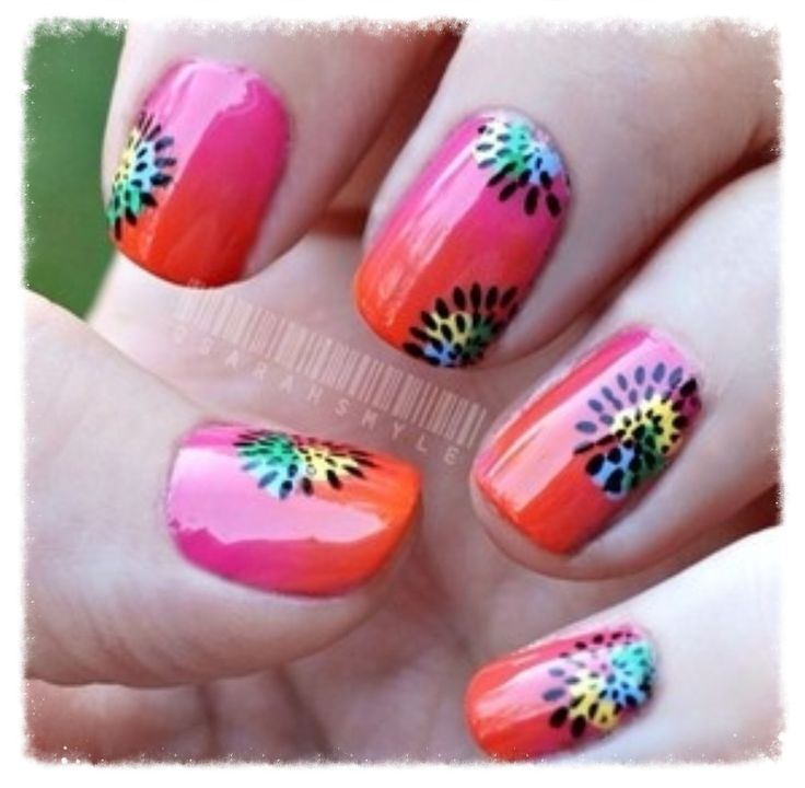 Cool Nail Art: Cool Summer Nail Art