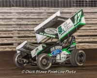 Bryan Clauson - Sprint Car Driver at Knoxville Raceway