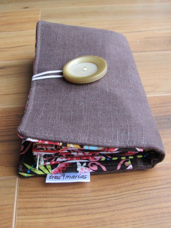 Fabric Cash Envelope Wallet