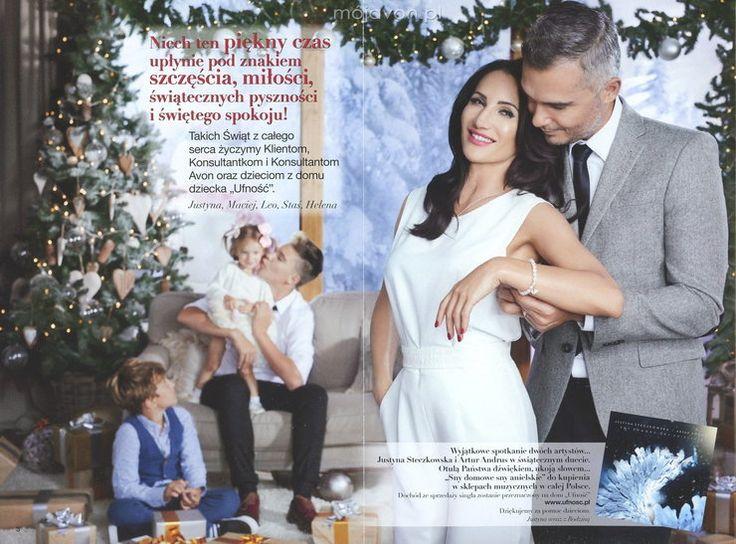 Justyna Steczkowska z całą rodziną w katalogu Avon - Plejada.pl