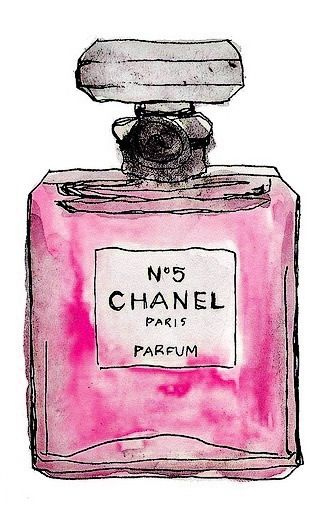 Chanel Perfume Bottle Drawing Illustrations Amp More