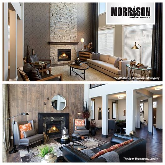 It's almost the weekend! First, we want to know which of these beautiful great rooms, both open to above, you like best? This or That??