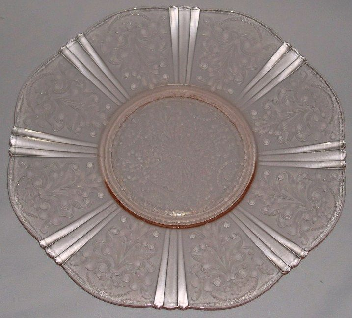 Blue American Sweetheart Depression Glass | American Sweetheart Pink  Depression Glass Cake Plate Salver Macbeth . Gallery