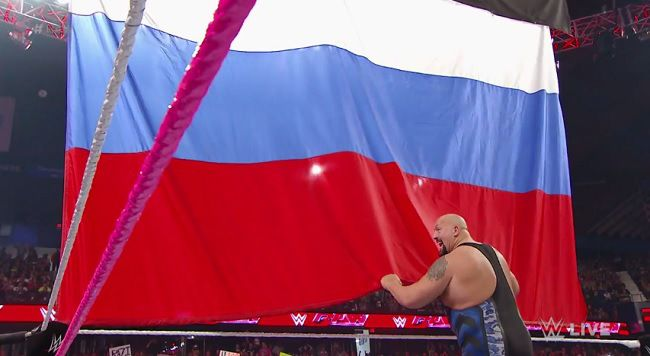 WWE Is Sorry For Letting A National Flag Hit The Ground. Again. http://makemyfriday.com/2014/10/wwe-is-sorry-for-letting-a-national-flag-hit-the-ground-again/ #fakecontroversies, #flags, #LANA, #Media, #News, #PROWRESTLING, #ProWrestling, #RUSEV, #russia, #Sports, #THEBIGSHOW, #wwe, #WWERAW