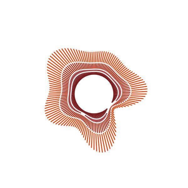 Image of the Day 2018/03/18 iotd algorithm corona mathart radial trigonometry