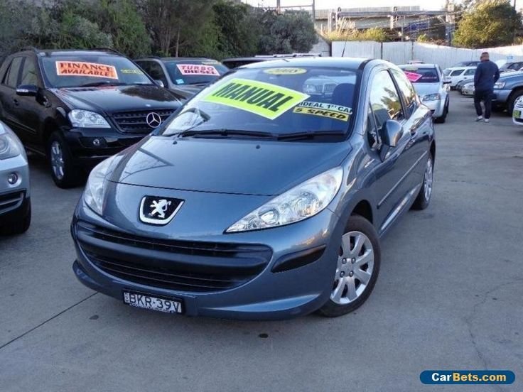 2008 Peugeot 207 XR Grey Manual 5sp M Hatchback #peugeot #207 #forsale #australia