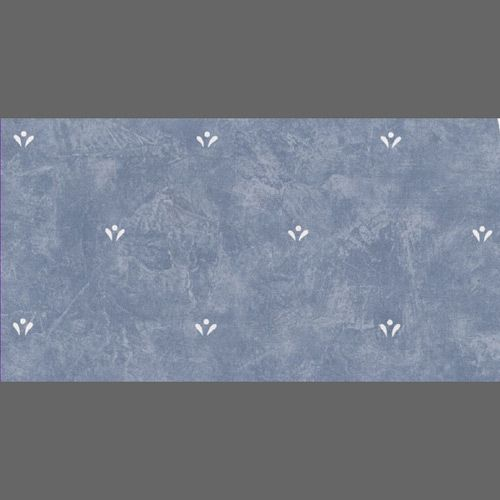 Blue & White Faux Finish Dotted Floral wallcovering: jw37132 | Clearance Wallpaper
