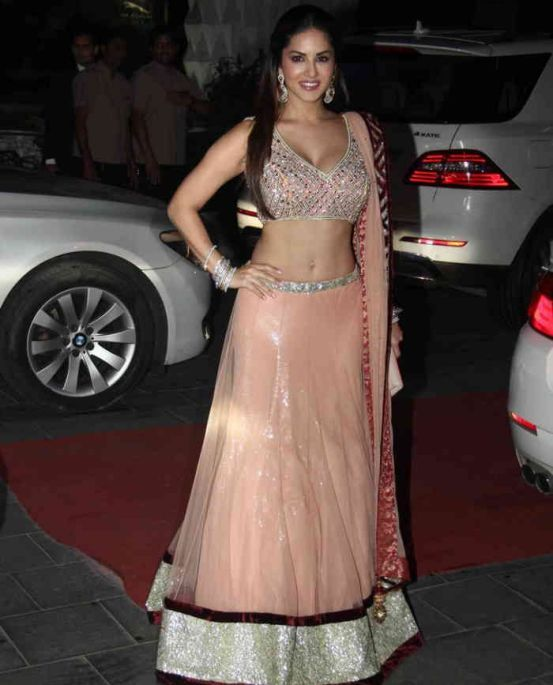 Sunny Leone at @TSeries' Tulsi Kumar & Hitesh Ralhan Grand Wedding Reception, March, 2015