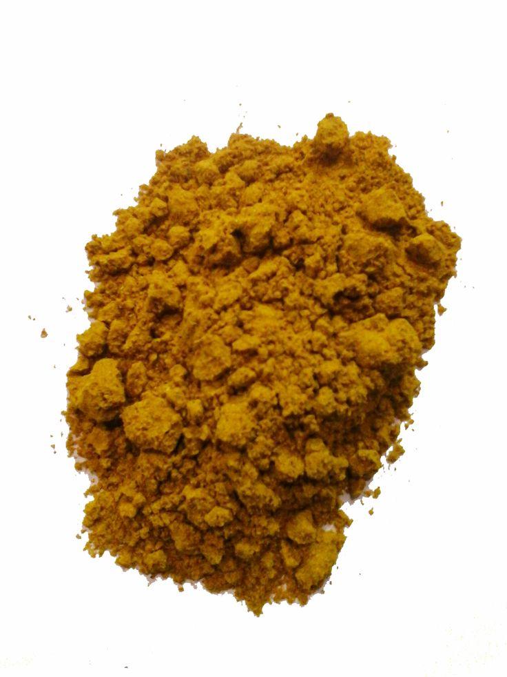 """Curry """"Masala"""" Madras Forte leggermente piccante ingredienti: - Curcuma 20% , Coriandolo , Cumino , Carvi , Pepe , Zenzero, Fienogreco, Cardamomi , Macis , Garofani , Peperoncini.  Provenienza: Madras (India)"""