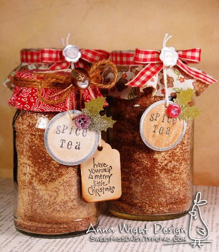 Spiced Tea in a Jar - great gift idea!