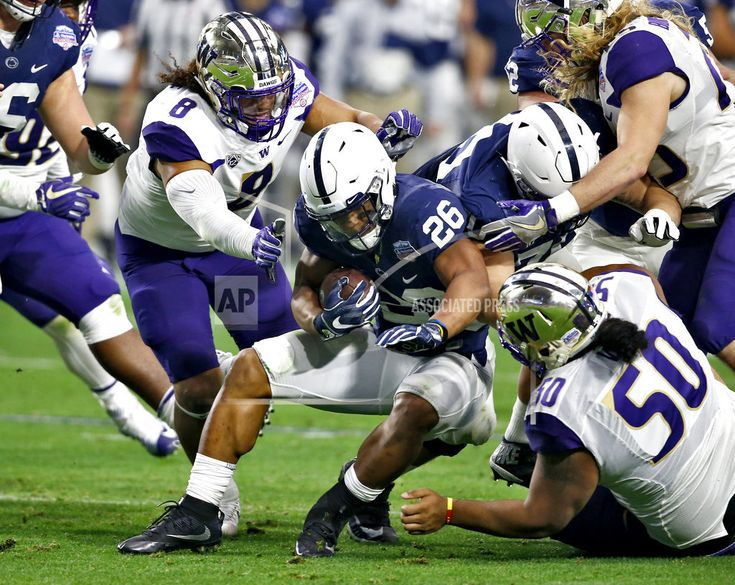 GLENDALE, Ariz./December 30, 2017 (AP)(STL.News) — Trace McSorley threw for 342 yards and two touchdowns, Saquon Barkley ran for two more scores and No. 9 Penn State outlasted No. 12 Washington 35-28 in the Fiesta Bowl on Saturday. Penn State (11-2), No. 9 in the final College Football Rankings, ... Read More Details: https://www.stl.news/no-9-penn-state-tops-no-12-washington-35-28-fiesta-bowl/58835/