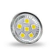 4W+GU4+(MR11)+LED-spotlampen+MR11+6+leds+SMD+5050+Decoratief+Koel+wit+350lm+6000-6500K+DC+12V++–+EUR+€+2.44