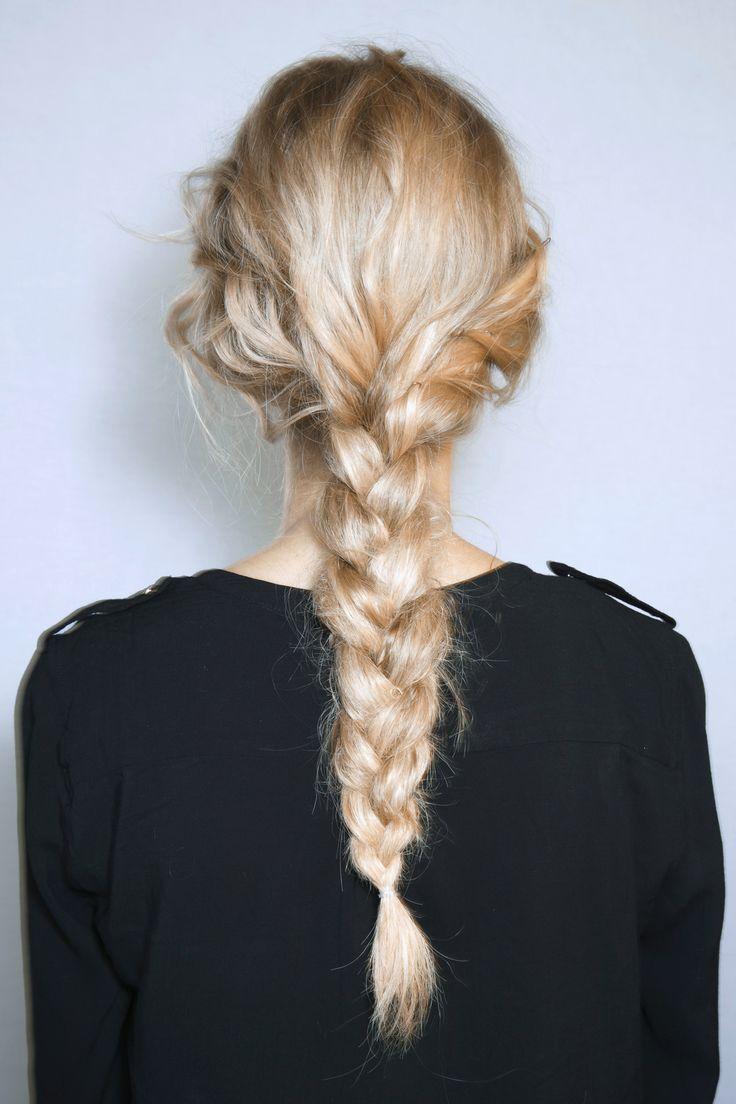 Long thick braid // #hair #braids
