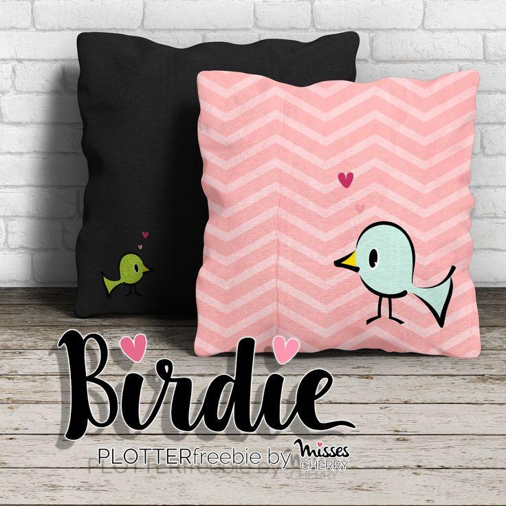 Misses Cherry: Plotter Freebie: Birdie