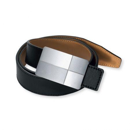 Il benessere del magnete anche nelle cinture Magnetix Wellness. In vera pelle marrone o nera con fibbia in acciaio inossidabile. Un magnete al neodimio. Polarità Nord 1000 gauss.