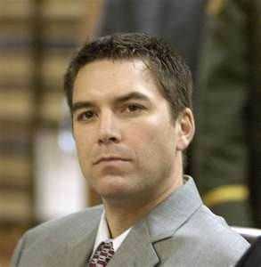 Scott Lee Peterson (born October 24, 1972) is an American convicted of murdering his wife, Laci Peterson, and their unborn son in Modesto, California, in 2002. Peterson's arrest and subsequent trial received significant American news media coverage until 2005, when he was sentenced to death by lethal injection. He remains on death row in San Quentin State Prison while his case is on appeal to the Supreme Court of California. He maintains his innocence.