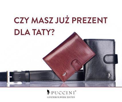 Eleganckie paski, portfele i etui wykonane z najlepszej jakości włoskich skór z okazji Dnia Ojca już od 68 zł!