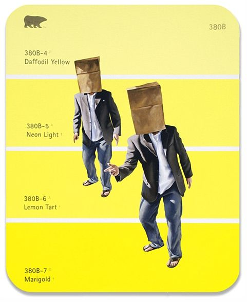 380B - Brown Paper Bag,  Artists with Huge Egos