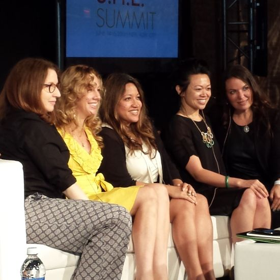 S.H.E. Summit, Investing in Women panel with Claudia Chan