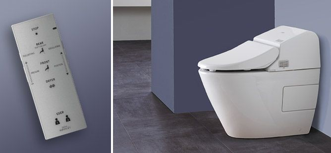 The Washlet G500 From Toto Self Cleaning Toilet Bidet