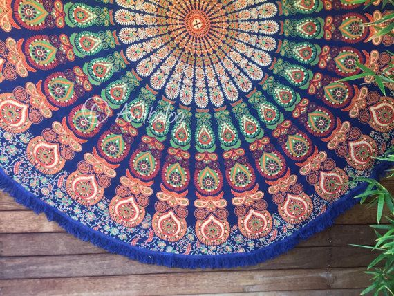bohemian tapestry by Ambaloo on Etsy $46.26