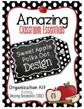 Amazing Classroom Essentials: Classic Design {BUNDLE}