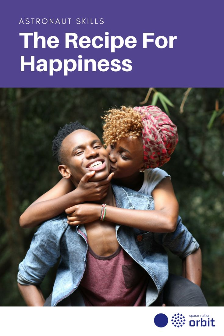 The Recipe For #Happiness || #Space Nation Orbit - Lifestyle publication showing how you can win at life with #astronaut #skills for everyday use