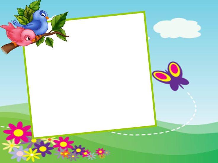 moldura para fotos tema jardim encantado : moldura para fotos tema jardim encantado: Para Fotos Infantil no Pinterest