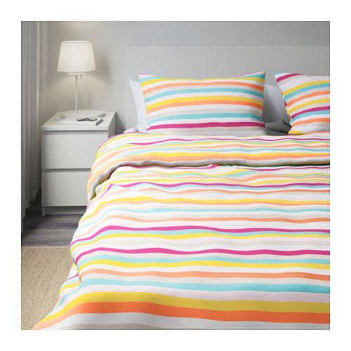 SOMMAR 2018 Duvet cover and pillowcase(s) - Full/Queen (Double/Queen) - IKEA