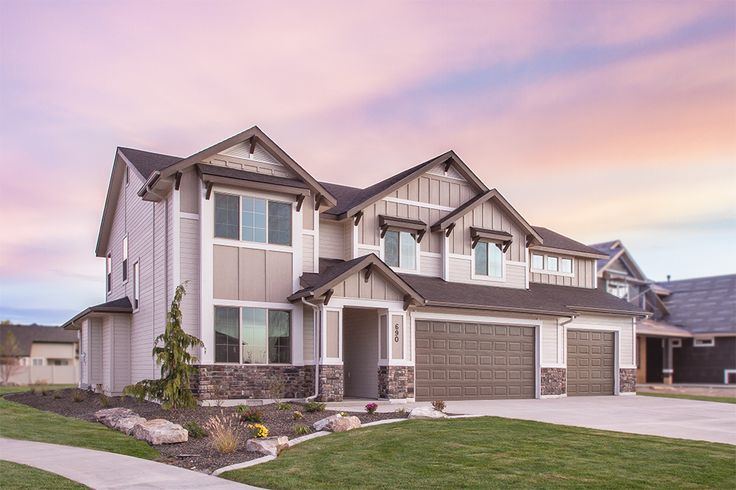 17 best home exteriors images on pinterest twin falls for Home builders twin falls idaho