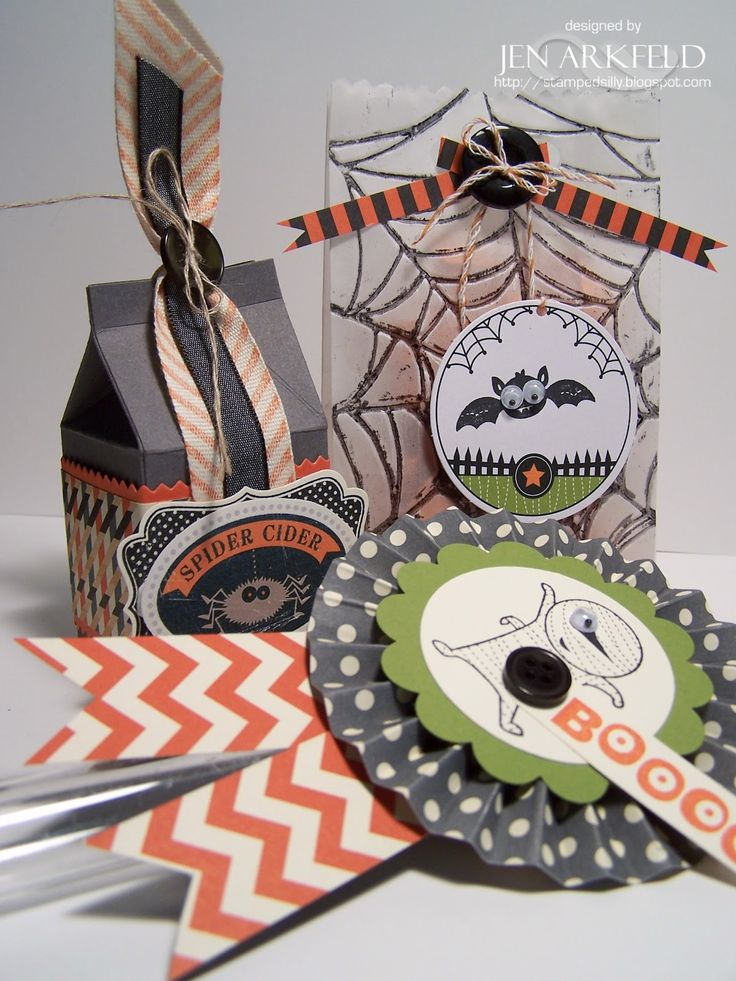 Stamped Silly: Halloween Parties, Stampin Up, Cute Pet, Neat Ideas, Stamps Silly, Spoooki Treats, Halloween Treats, Treats Class, Halloween Ideas