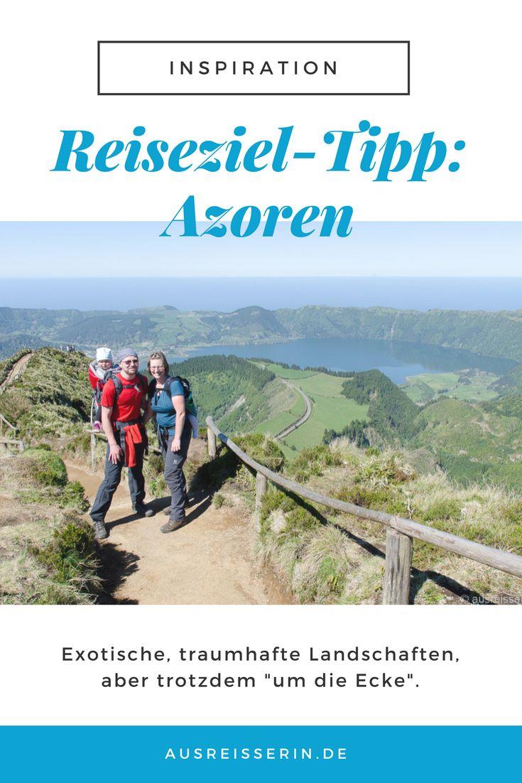 Reiseziel für das Frühjahr oder den Herbst gesucht? Mal was anderes als die Kanaren? Die Azoren sind in 4,5 Stunden Flug erreicht und warten mit einmaligen Landschaften auf: Vulkane, heiße Quellen, Kraterseen, Lavastrände, Teeplantagen... Ein exotisches Reiseziel innerhalb Europas, für Wanderer, für Roadtrip-Fans und ebenso für Familien.