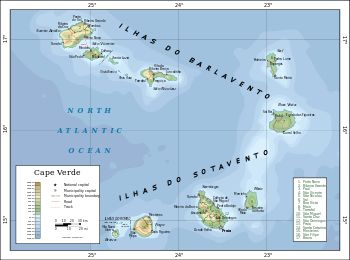 Beste Ideeën Over Cape Verde Map Op Pinterest Droom - Cape verde map
