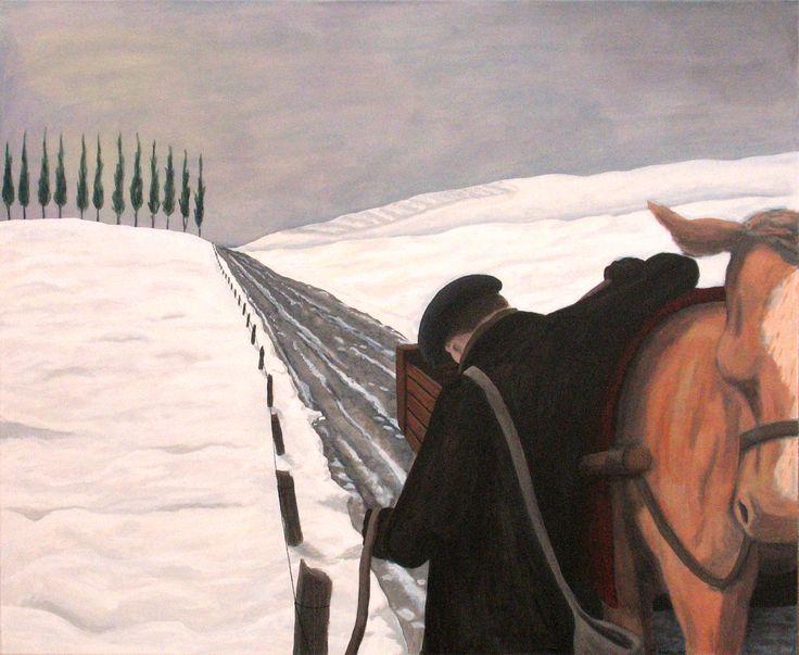 """""""The Winter Farmer"""" www.daverheaume.com"""