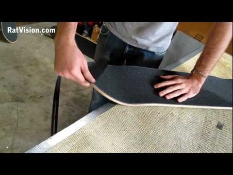 Apply Skateboard Grip Tape CORRECTLY