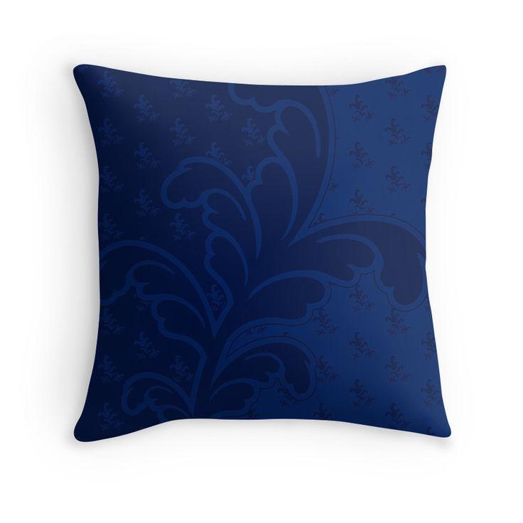 Ferny Blue - Pillow