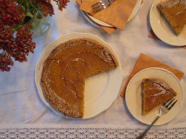 Tekvicový koláč na ala cheesecake z tofu