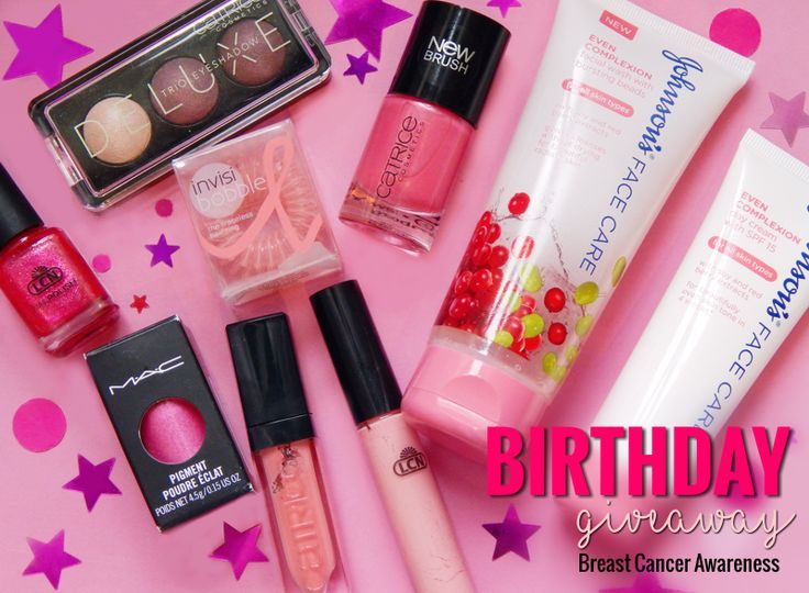 Birthday Giveaway #5 – Pink for October - Lipgloss Kisses