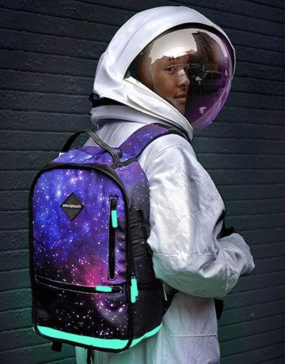 a61200393a Nike galaxy backpack.