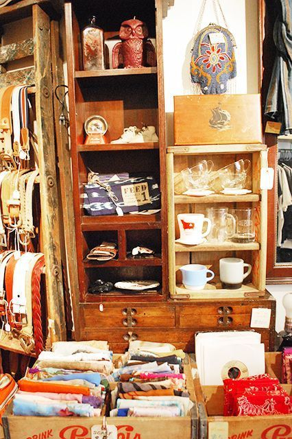 An Insider's Guide To Shopping Vintage In NYC #refinery29 http://www.refinery29.com/nyc-vintage-shops#slide9 Ladies and Gentlemen Band tees and varsity jackets abound in this East Village spot. It has a unique array of designer vintage clothing and accesories for the ladies. Ladies and Gentlemen, 338 East 11th Street (between First and Second avenues); 212-673-3904.
