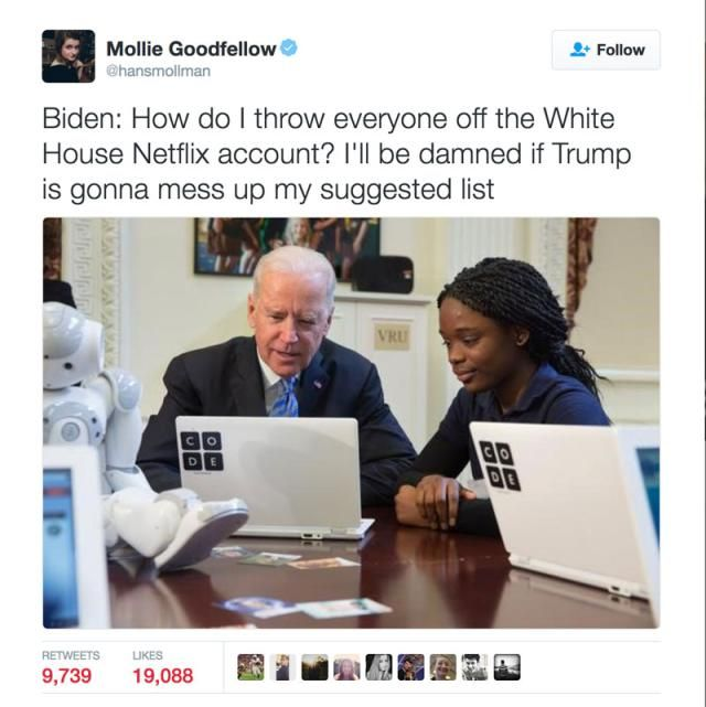 Funniest Memes of Biden and Obama Pranking Trump: White House Netflix Account